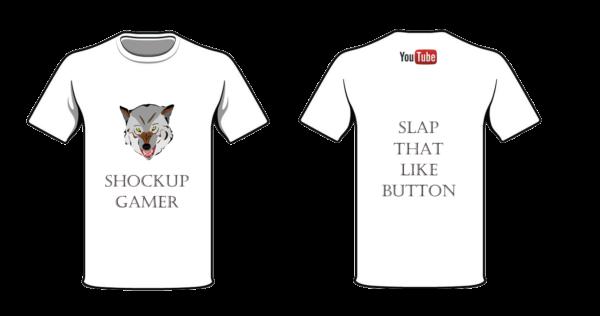shockup gamer T-shirt- 2