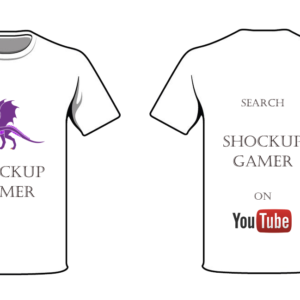 shockup gamer T-shirt Dragon 1