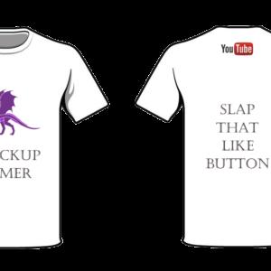 shockup gamer T-shirt Dragon 2
